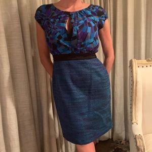 Trina Turk silk and wool dress